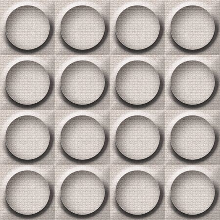 tumors: Abstract paneling pattern - seamless background - button pattern - cloth texture Stock Photo