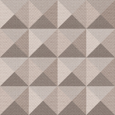 pyramidal: Abstract paneling pattern - seamless background - pyramidal pattern - cloth texture