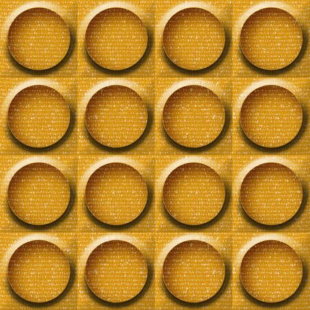 paneling: Abstract paneling pattern - seamless background - button pattern - fabric texture