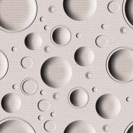 tumors: Abstract paneling pattern - seamless background - bubble pattern - cloth texture Stock Photo