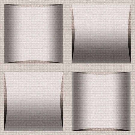 paneling: Abstract paneling pattern - seamless background - cloth paneling Stock Photo