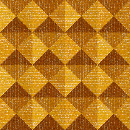 pyramidal: Abstract paneling pattern - seamless background - pyramidal pattern - fabric texture