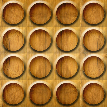 paneling: Abstract paneling pattern - seamless background - button pattern - wood texture