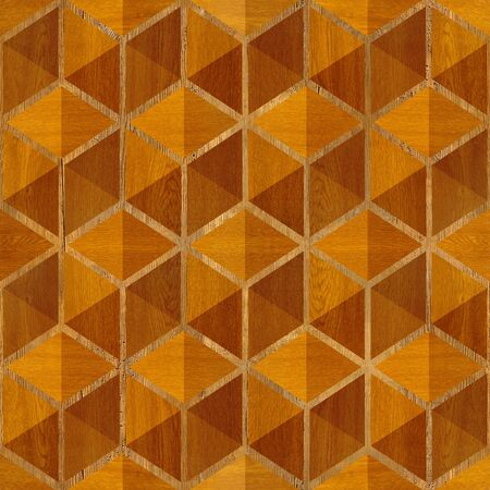 checkered pattern: Abstract checkered pattern - seamless background - wood paneling Stock Photo