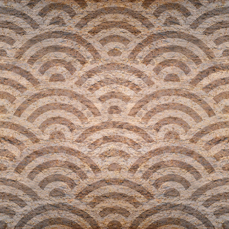 natural arch: Abstract arched pattern - seamless background - stone surface