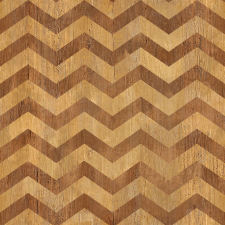 zag: vintage zig zag pattern - seamless background - wooden surface