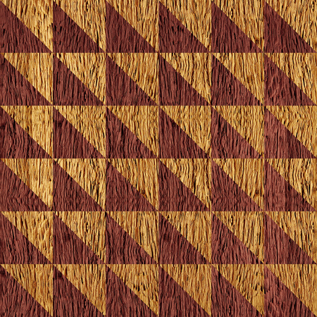 checkered pattern: Abstract checkered pattern - seamless background - wooden surface