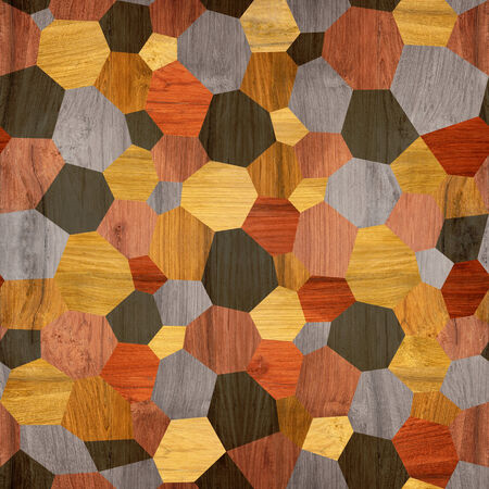 paneling: Abstract paneling pattern - seamless background - cassette floor Stock Photo