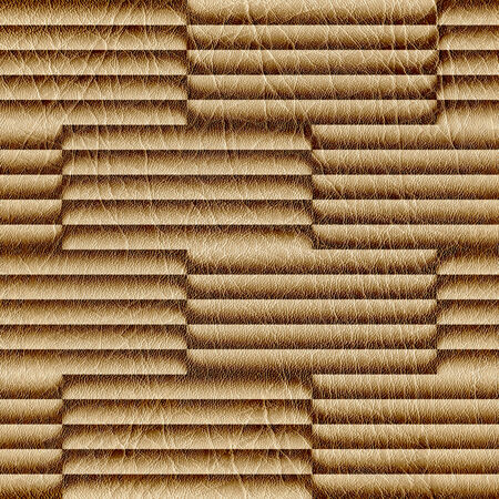 sunblind: Abstract decorative paneling - seamless background - structural damage Stock Photo