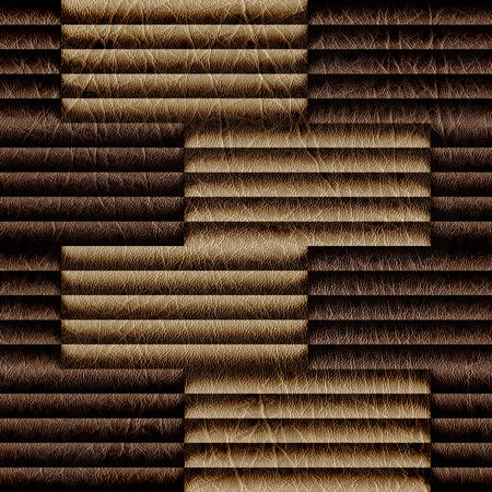 louver boards: Abstract decorative paneling - seamless background - leatherette texture