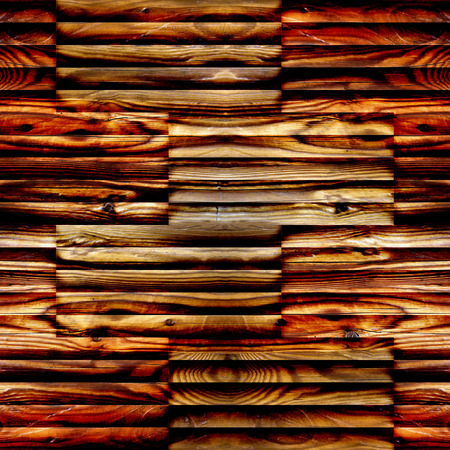 louver boards: Abstract wooden paneling - seamless background - different color