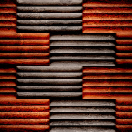 sunblind: Abstract wooden paneling - seamless background - different color