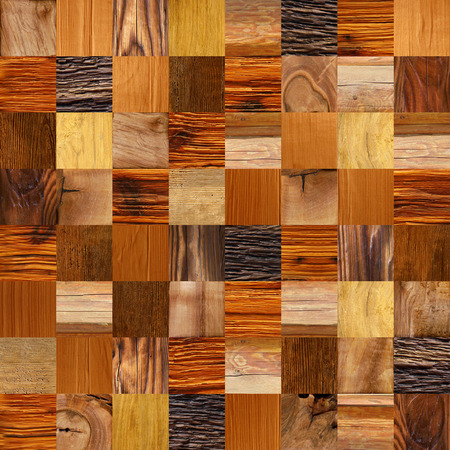 checkered pattern: checkered pattern - different colors - wooden background