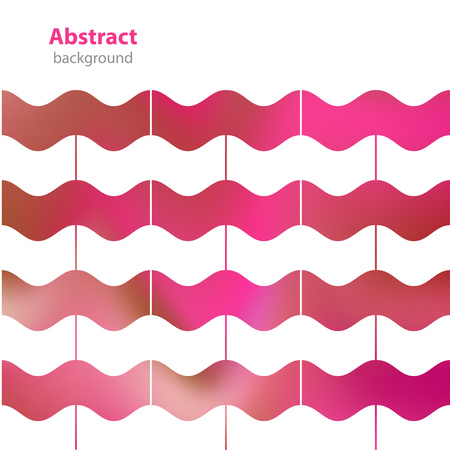 textur: abstract decorative background - different colors - waves textur