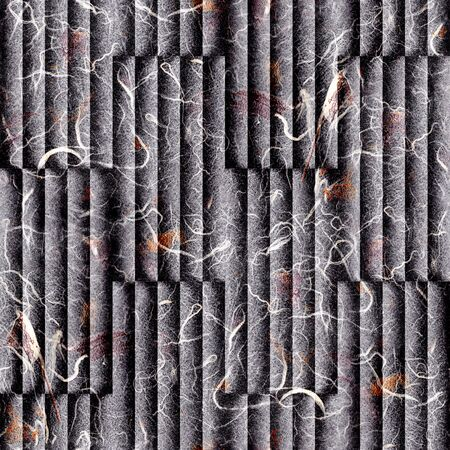 louver boards: Abstract paneling pattern - seamless background - Handmade paper