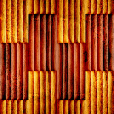 louver boards: Abstract paneling pattern - seamless background - wood texture