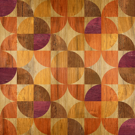 flooring: Abstract paneling pattern - seamless pattern - parquet flooring