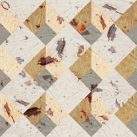 paneling: Abstract paneling pattern - seamless background - paper texture