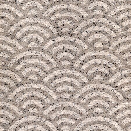 rippling: Abstract wavy pattern - seamless background - paper surface