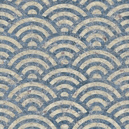 arched: Abstract arched pattern - seamless background - paper texture