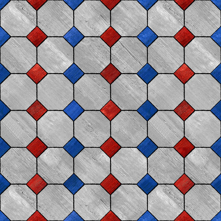paneling: Abstract paneling pattern - seamless background - national colors