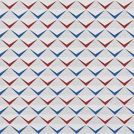 clippings: Abstract recortes - fondo transparente - rojo-azul colores nacionales - textura de cuero