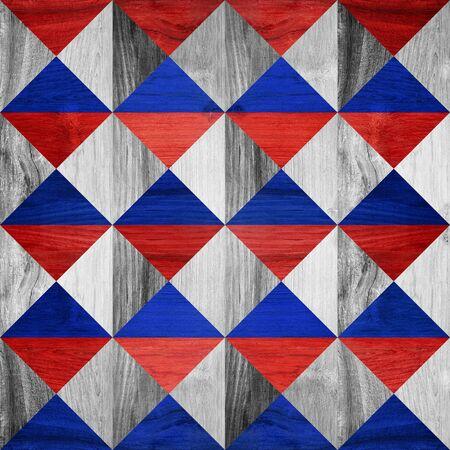 pyramidal: Pyramidal pattern - seamless background Stock Photo