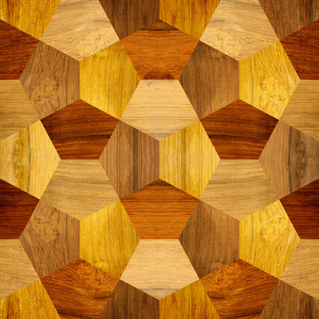 veneer: abstract decorative tiles - seamless background - wood texture