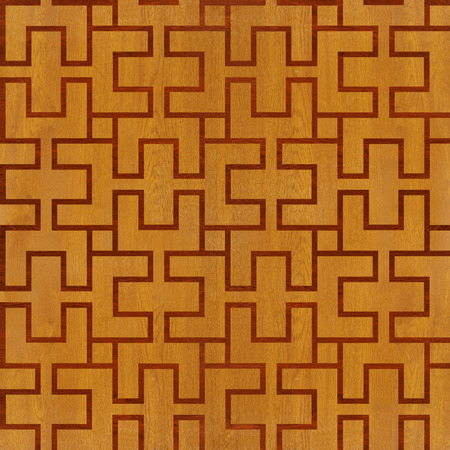 Abstract paneling pattern - seamless background - laminate floor photo