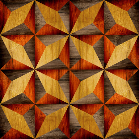 paneling: Abstract paneling pattern - different colors - wooden background