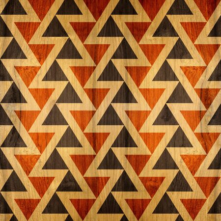 wood blocks: Abstract paneling pattern - seamless background - wood texture