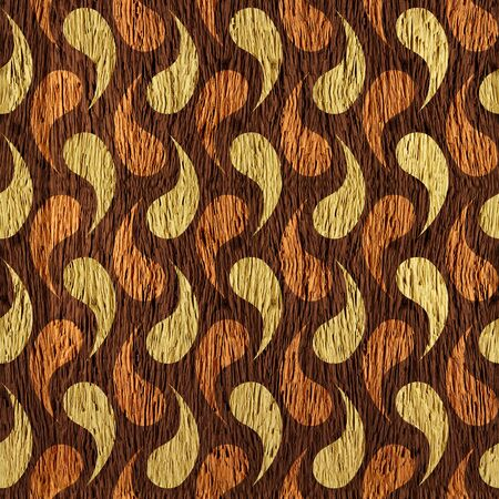 genetic material: Abstract decorative texture - seamless background - wood texture