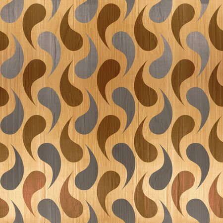 wriggle: Abstract organic texture - seamless background - wood texture Stock Photo
