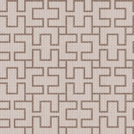 pave: Abstract paneling pattern - seamless background - cloth paneling Stock Photo
