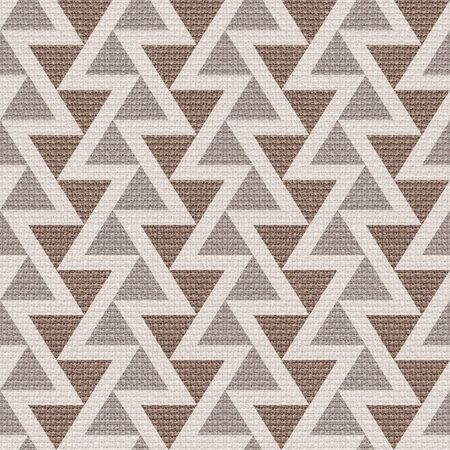 paneling: Abstract triangle pattern - seamless background - cloth paneling