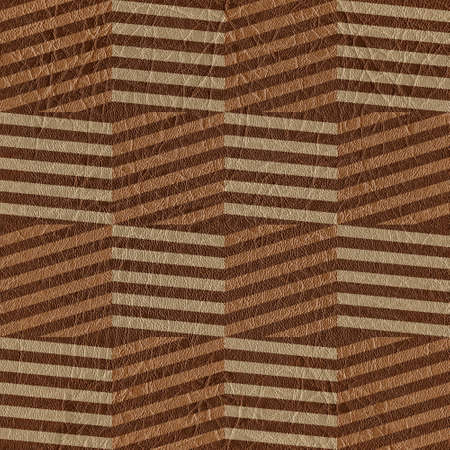 zig zag: Vintage zig zag pattern - seamless background - leather surface