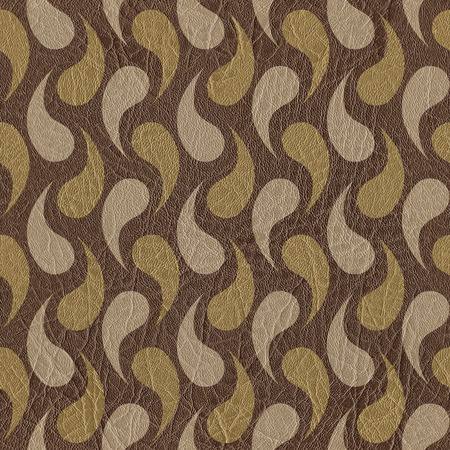 microbial: Abstract microbial texture - seamless background - leather surface Stock Photo