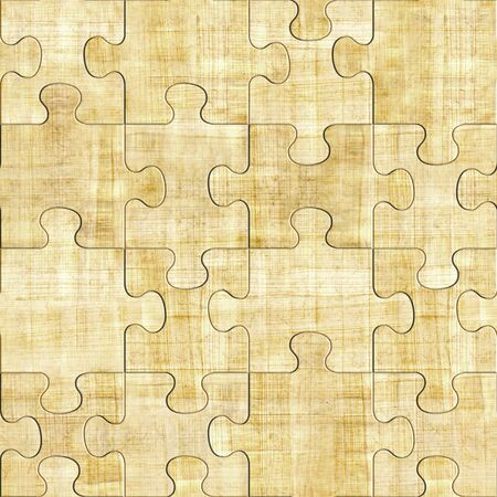 panelling: papyrus texture - seamless pattern - puzzle pattern