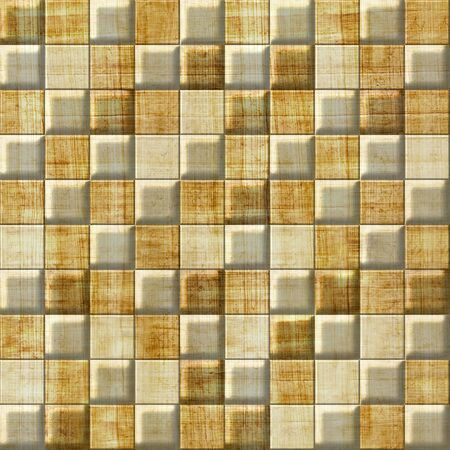 grained: Checkered pattern - seamless pattern - papyrus surface Stock Photo