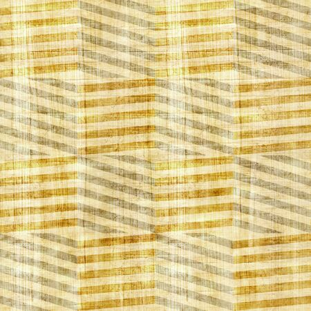 veneer: Vintage zig zag pattern - seamless pattern - papyrus texture Stock Photo