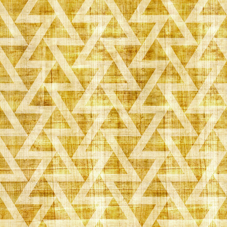grained: Abstract triangle pattern - seamless pattern - papyrus texture