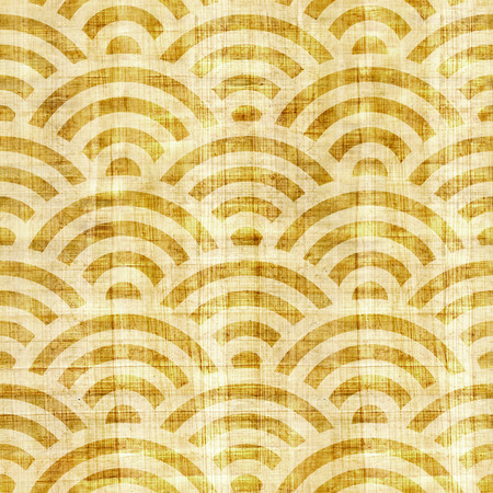 grained: Wave decorative paneling - seamless pattern - papyrus surface