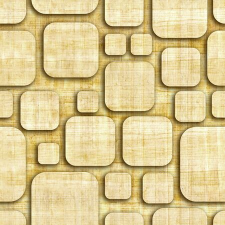 smudged: Abstract paneling pattern - seamless pattern - papyrus surface