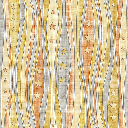 scratchy: Abstract paneling pattern - Stars seamless pattern - papyrus surface