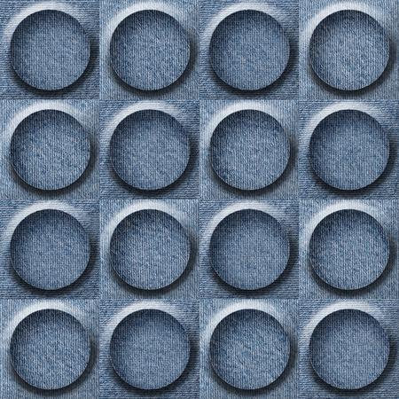 tumors: Abstract paneling pattern - seamless pattern - Blue denim jeans