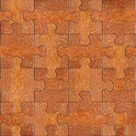 elm: Wooden puzzles assembled for seamless background - Carpathian Elm wood texture Stock Photo