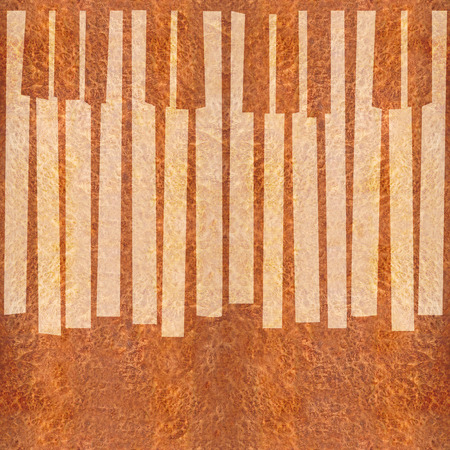 ebony: Abstract musical piano keys - seamless background - Carpathian Elm wood texture