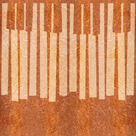 teclado piano: Teclas abstractas musicales de piano - de fondo sin fisuras - C�rpatos textura de madera del olmo Foto de archivo