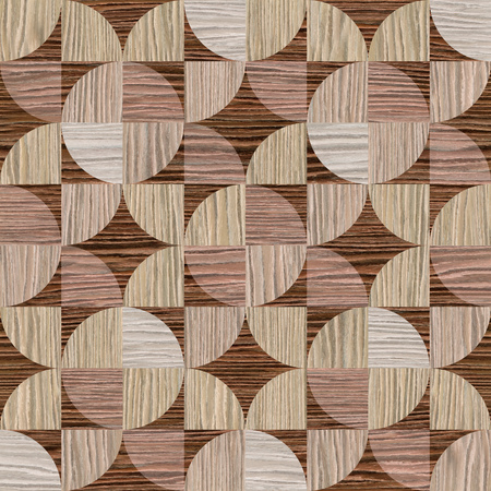 pave: Abstract decorative texture - seamless background - paneling pattern Stock Photo