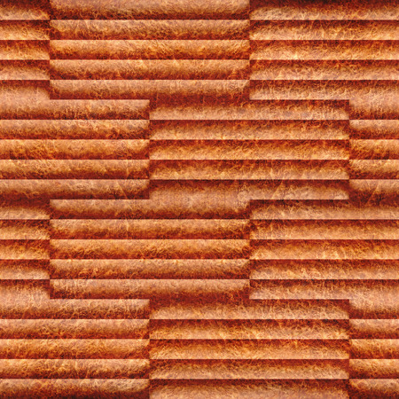 louver boards: Abstract wooden paneling - seamless background - Carpathian Elm wood texture Stock Photo